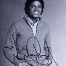 "Michael Jackson The King of Pop 8 X 10"" Autographed Photo (Reprint :1958)"