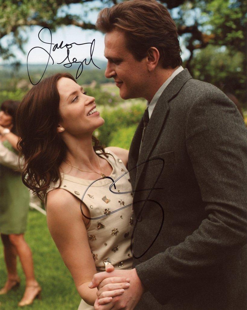 "Jason Segel & Emily Blunt : Loving Sarah 8 x 10"" Signed/ Autographed Photo (Reprint:1962)"
