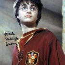 "Daniel Radcliffe 8 x 10"" Autographed Photo Harry Potter The Women in Black Horns (Reprint 1966)"