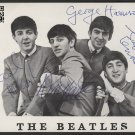 "The Beatles RARE 8 x 10"" Autographed Photo: Lennon, Harrison, Starr & McCartney (Reprint:1986)"