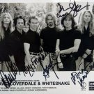 """Whitesnake 8 x 10"""" Autographed Photo (Reprint 1985) Ideal for birthdays and xmas"""