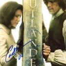 "Caitriona Balfe & Sam Heughan (Outlander) 8 X 10"" Autographed Photo (Reprint:1991)"