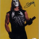 """American Wrestler Sting 8 x 10"""" Autographed Signed Photo (Reprint :1994) Wrestling Autographs"""