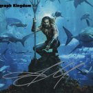 "Jason Momoa 8 x 10"" Autographed Photo (Aqua Man / Games of Thrones / See : Reprint :2001)"