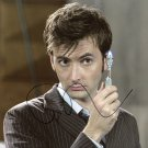 "David Tennant 8 x 10"" Singed / Autographed Photo Good Omens / Dr Who (Reprint Ref:2005)"