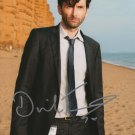 """David Tennant 8 x 10"""" Autographed Photo Good Omens / Dr Who / Fright Night (Reprint Ref:2006)"""