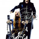 "Ozzy Osbourne & Zakk Wild Dual  Awesome Signed 8 x 10"" Autographed Photo (Reprint: 2026)"