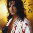 "Alice Cooper 8 x 10"" Autographed / Signed Photo (Reprint: 2035)"