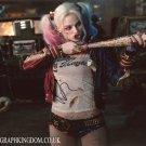 "Margot Robbie Harley Quinn Suicide Squad 8 x 10"" Autographed Photo (Reprint: 2043)"