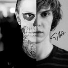 """Evan Peters (American Horror Story) Awesome 8 x 10"""" Autographed Photo (Reprint:2049)"""