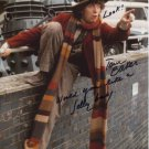 """Tom Baker (Dr Who) Would you Like a Jelly Bean  8 x 10"""" Autographed Photo (Reprint:2114)"""
