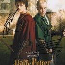 "Daniel Radcliffe & Tom Felton (Harry Potter) Awesome 8 x 10"" Autographed Photo  (Reprint 2124)"