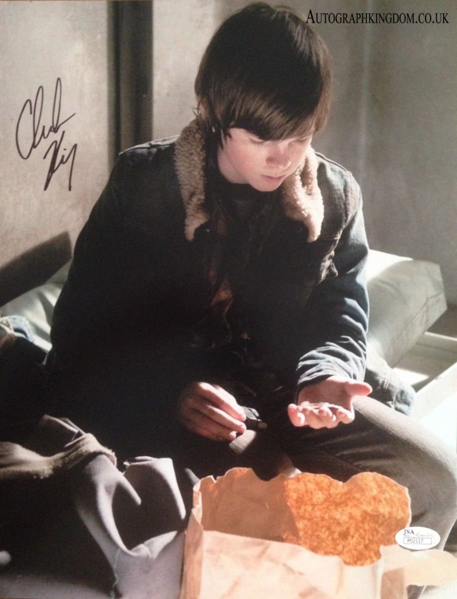"Chandler Riggs The Walking Dead 8 x 10"" Signed/ Autographed Photo (Reprint 2132) Great Gift Idea!"