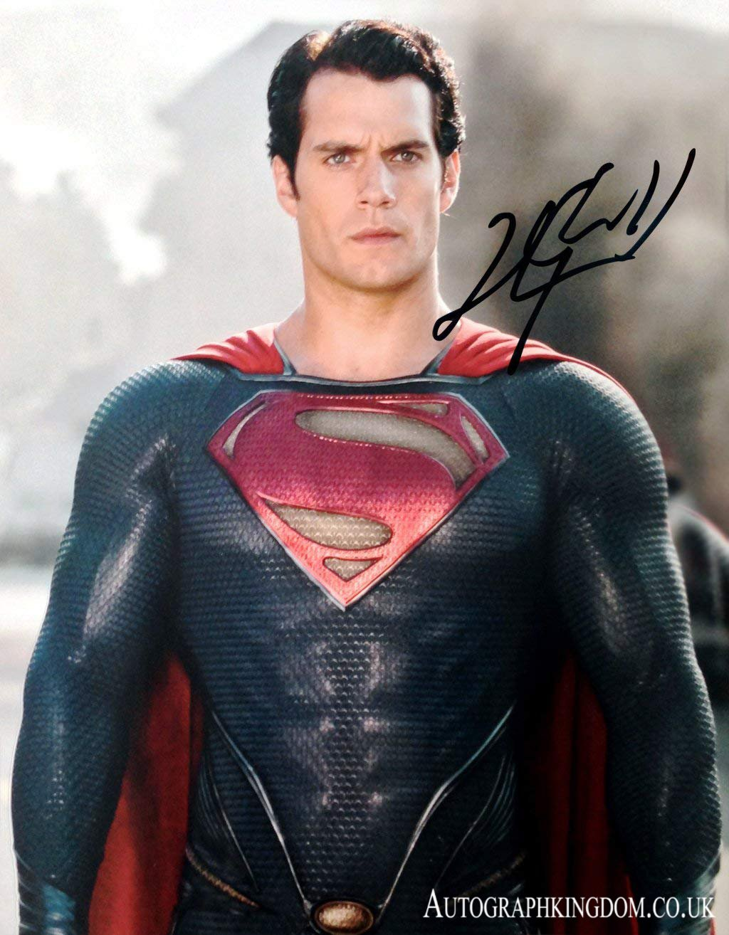 """Henry Cavill Superman Man of Steel / The Witcher  x 10"""" Autographed Photo (Reprint 2146)"""