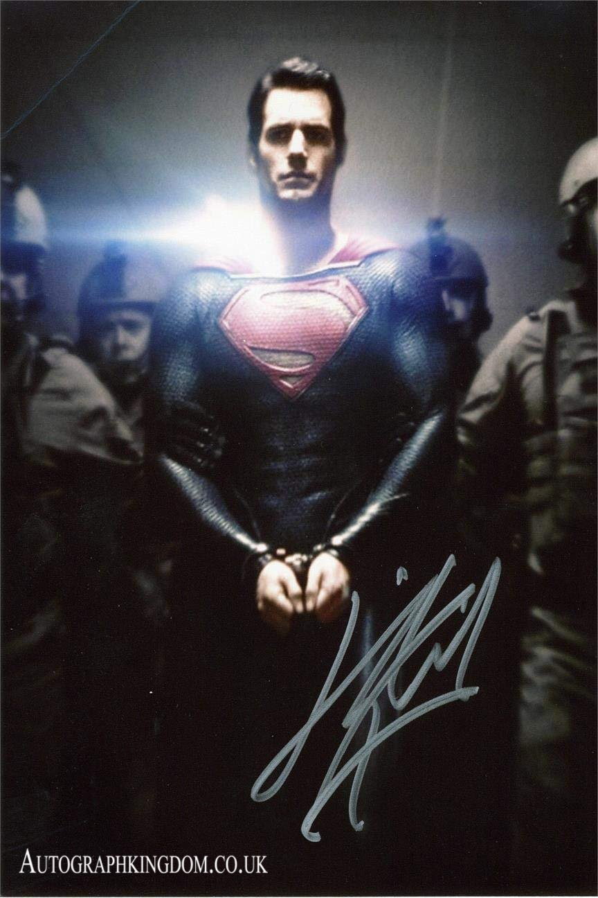 "Henry Cavill Superman Man of Steel / The Witcher  x 10"" Autographed Photo (Reprint 2148)"