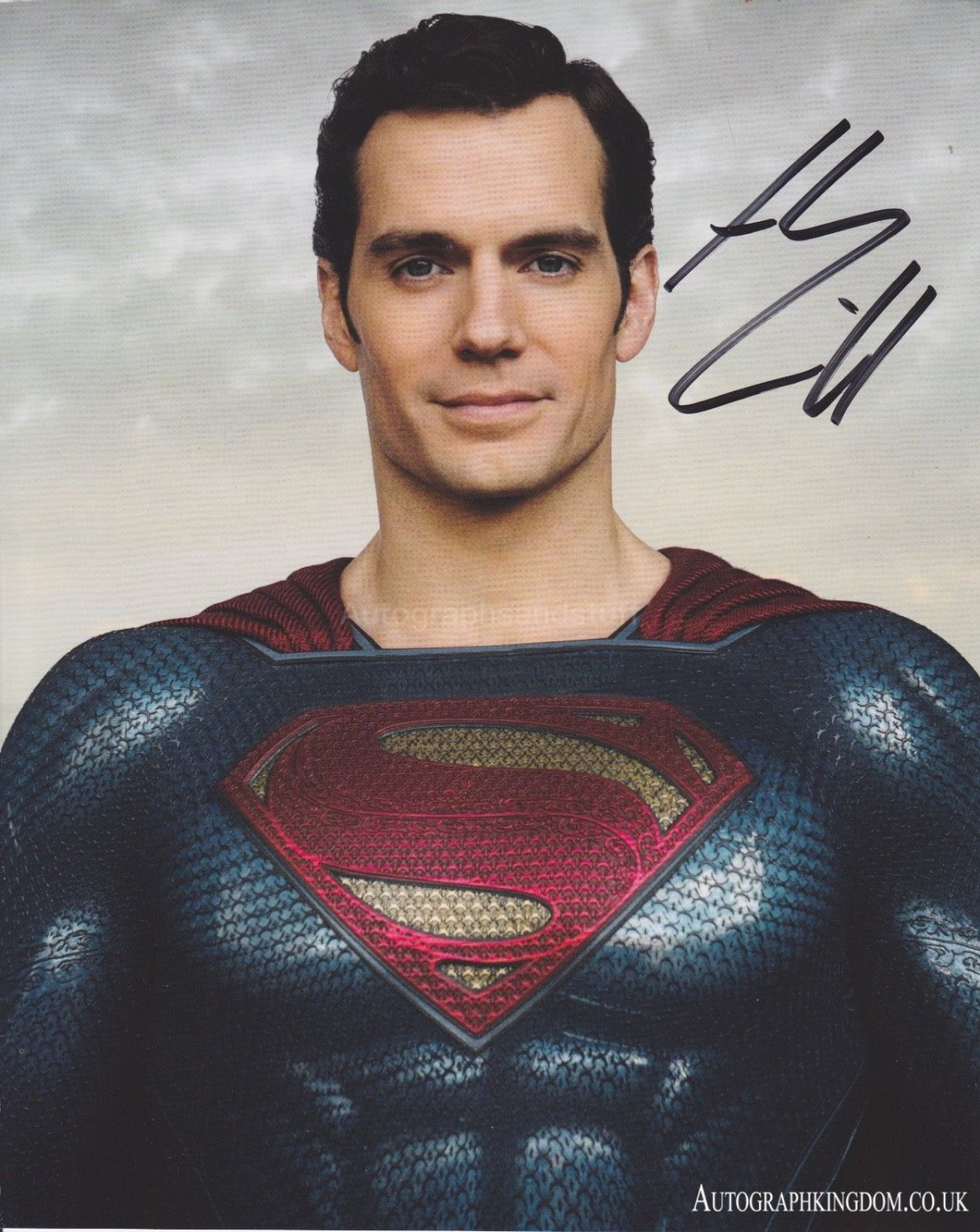 "Henry Cavill Superman Man of Steel / The Witcher 8 x 10"" Autographed Photo (Reprint 2149)"