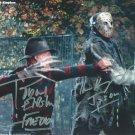 "Ken Kirzinger & Robert Englund Freddy Vs Jason 8 x 10"" Autographed Photo (Reprint:1762)"