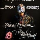 "Ken Kirzinger & Robert Englund Freddy Vs Jason 8 x 10"" Signed/  Autographed Photo (Reprint:2020)"