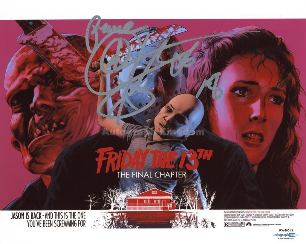 """Corey Feldman 8 x 10""""  Signed / Autographed Photo  Friday The 13th, The Lost Boys (Reprint:171)"""