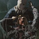 "Warrington Gillette 8 x 10"" Autographed / Signed Photo Friday The 13th (Reprint:1762)"
