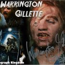 "Warrington Gillette 8 x 10"" Autographed / Signed Photo Friday The 13th Great Gift Idea!"
