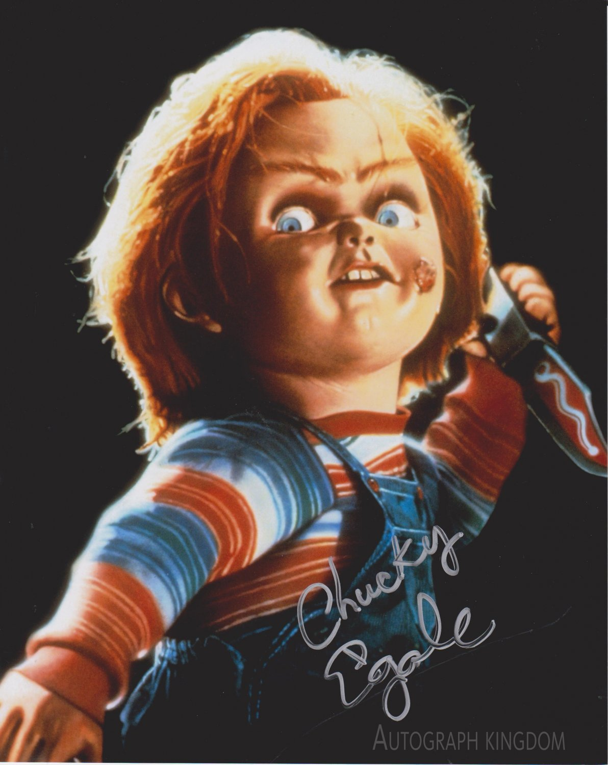"""Ed Gale (Child's Play / Chucky) 8 X 10"""" Autographed signed Photo (Reprint 2074) Great Gift Idea!"""