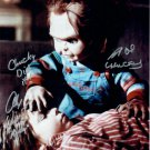 "Brad Dourif & Alex Vincent Child's Play / Chucky) 8 X 10"" Autographed Photo (Reprint 2080)"