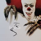 "Tim Curry 12 x 8"" Signed / Autographed Photo Stephen Kings It / Home Alone 2 (Reprint 1940)"