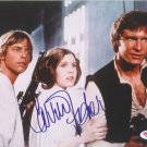 "RARE Carrie Fisher Star Wars 8 x 10"" Signed / Autographed Photo (Ref 100520)"