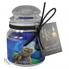 Lisa Parker Glass Luck Jar Spell Candle (Sandalwood) Pagan /  Wicca / Witchcraft / Nemesis now