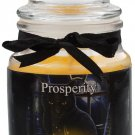 Lisa Parker Glass Prosperity Jar Spell Candle (Jasmine) Pagan /  Wicca / Witchcraft / Nemesis now