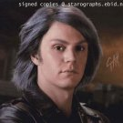 "Evan Peters 8 x 10"" Signed Autographed Photo X-Men, American Horror Story, Kick Ass.(Reprint:2050)"