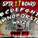 Limited Edition Pennywise The Dancing Clown A4 Wooden Ouija Board / Ghost Hunting / EVP (Type 1)