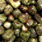Dragons Blood Jasper Crystal Gemstone Healing Crystal, Reiki Pagan, Magick, Spells, Rituals
