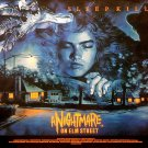 A Nightmare on Elm Street (1984) Vintage A4 Movie Poster Version 2 Reproduction