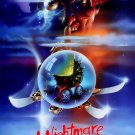 A Nightmare on Elm Street Part 5: The Dream Child (1989) Vintage A4 Movie Poster Reproduction