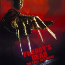 Freddie's Dead : The Final Nightmare (1991) Vintage A4 Movie Poster Print Reproduction
