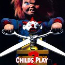 Child's Play 2 (1990) Laminated Vintage A4 Movie Poster Art Print