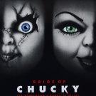 Bride Of Chucky (1998) Laminated A4 Vintage Movie Poster Art Print Brad Dourif & Jennifer Tilly