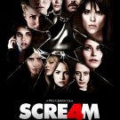 Wes Craven's Scream 4 (2011) Laminated A4 Vintage Movie Poster Art Print