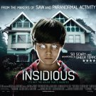 Insidious (2010) A4 Laminated Movie Poster Print Horror Wall Art