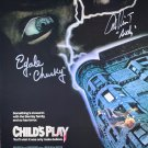 Child's Play (1988) movie poster signed by Ed Gale & Alex Vincent (1988)
