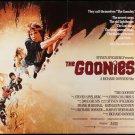 The Goonies (1985) Original A4 Laminated Quad Poster Print (Reprint:1770)