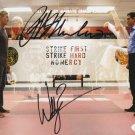 "Cobra Kai Cast x 2 William Zabka & Ralph Macchio 8 x 10"" Autographed Photo (Reprint 2283)"