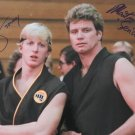 "The Karate Kid cast x 2 William Zabka & Martin Kove 8 x 10"" Autographed Photo (Reprint 2285)"