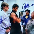 "The Karate Kid Cast x 2 Ralph Macchio &  William Zabka 8 x 10"" Autographed Photo (Reprint 2287)"