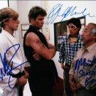 "The Karate Kid Cast x 3 Ralph Macchio, Martin Kove & William Zabka 8 x 10"" Autographed Photo"