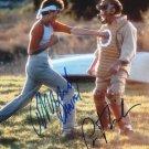 "The Karate Kid Cast x 2 Pat Morita & Ralph Macchio 8 x 10"" Autographed Photo (Reprint 2288)"