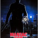 Maniac Cop (1988) Vintage A4 Laminated Movie Poster Print Horror Wall Art