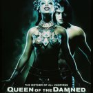 Queen of The Damned (2002) Vintage A4 Laminated Movie Poster Print Horror Wall Art